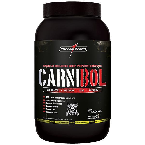Carnibol - Chocolate 907g + Coqueteleira - Integralmédica