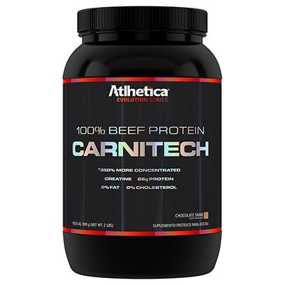 Carnitech 100% Beef Protein 900 G - Atlhetica Nutrition