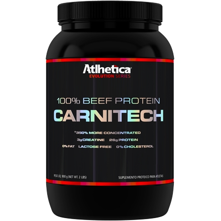 Carnitech 100 Beef Protein (900g) - Atlhetica Nutrition