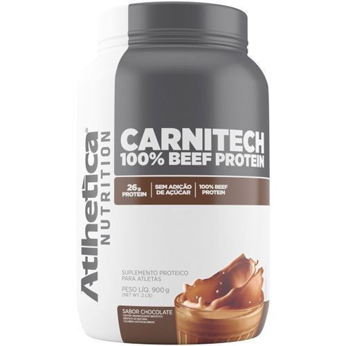 Carnitech 100 Beef Protein 900g Atlhetica Nutrition