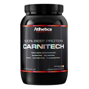 Carnitech 100% Beef Protein - Atlhetica - 907g- Chocolate