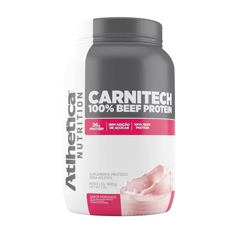 Carnitech Beef Protein 900G Atlhetica Nutrition