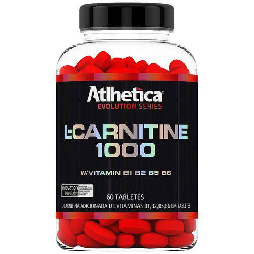 Carnitina Atlhetica L-Carnitine 1000 - 60 Tabletes Único