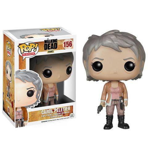 Tudo sobre 'Carol Peletier - The Walking Dead Funko Pop Television'