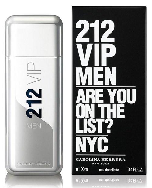 Carolina Herrera 212 Vip Men Eau de Toilette Perfume Masculino 100Ml