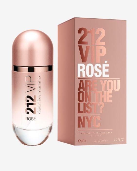 Carolina Herrera 212 Vip Rose Perfume Feminino Eau de Parfum 125 Ml