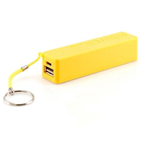 Carregador Bateria Portátil Power Bank Celular (Amarelo)
