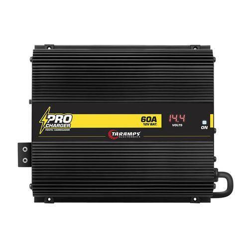 Tudo sobre 'Carregador Bateria Taramps Procharger 60a Bivolt Automático'
