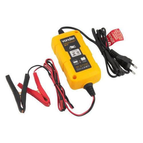 Carregador de Bateria Inteligente para Motos - CIB 003 - Vonder