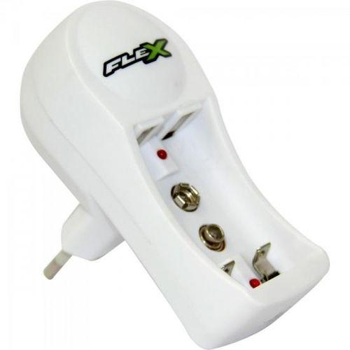 Carregador de Pilha Aa/aaa e Bateria 9v Fxc11 Bivolt Flex