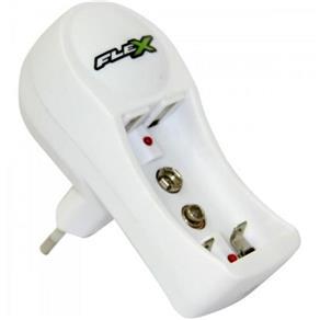 Carregador de Pilha Aa/Aaa e Bateria 9V Fxc11 Flex