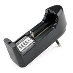 Carregador para 1 Bateria 18650