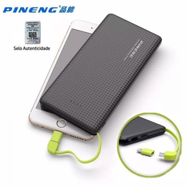 Carregador Bateria Portátil Power Bank Pineng Pn951 10000mah 100% Original