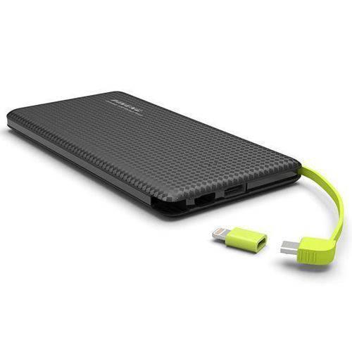 Carregador Portátil Pineng Pn-952 USB 5000mah - Preto
