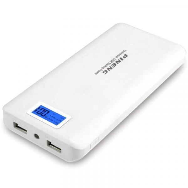 Carregador Bateria Portátil Pineng Pn-920 - Pn999 20.000mah Original - Power Bank