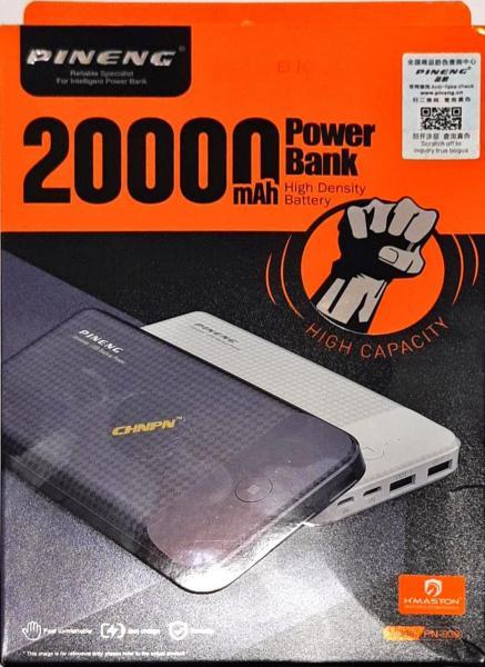 Carregador Portátil Power Bank Pn-939 Slim 20000mah - Pineng