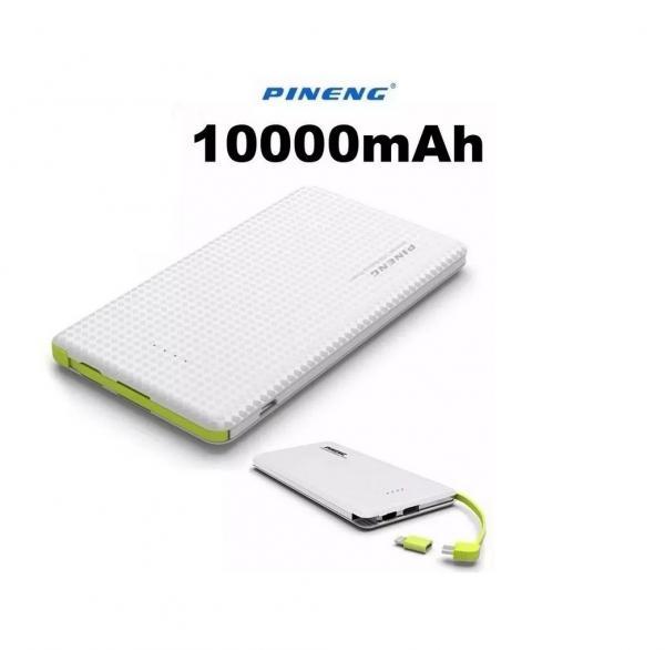 Carregador Portatil Power Bank Slim 10000 Mah Pn951 - Pineng