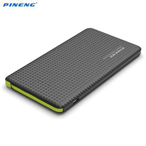 Carregador Portátil PowerBank Clr Motorola Moto G4 Play Pineng 5000mah Pn-952 PT Original C/ Selo