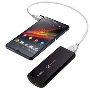 Carregador Portátil USB 3000mAh CP-V3 Preto SONY