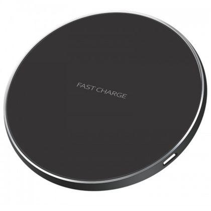 Tudo sobre 'Carregador Sem Fio Wireless Fast Charge Preto'