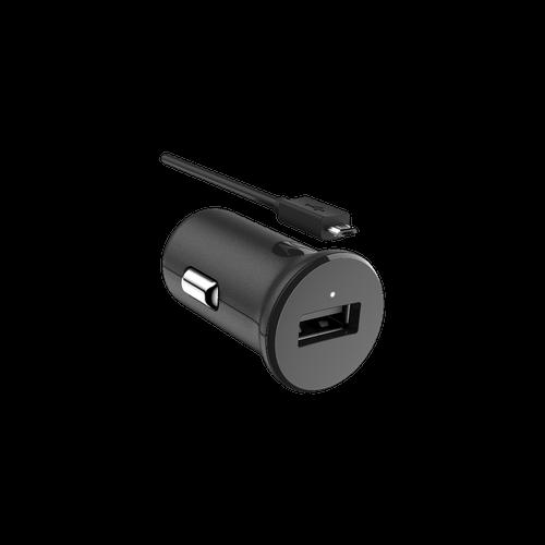 Carregador Veicular Motorola Turbo Power™ 15W com Cabo Micro USB - Preto