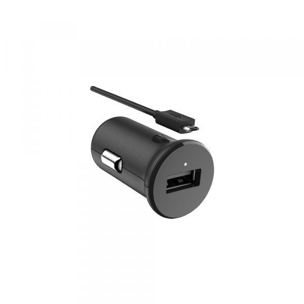 Carregador Veicular Motorola Turbo Power 15W com Cabo USB-C Preto