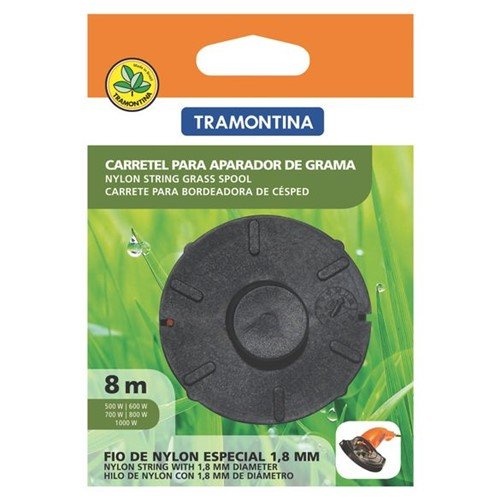 Tudo sobre 'Carretel Nylon 1 Tramontina 8mmx8m Ap500 a Ap1000 - 78799/463'