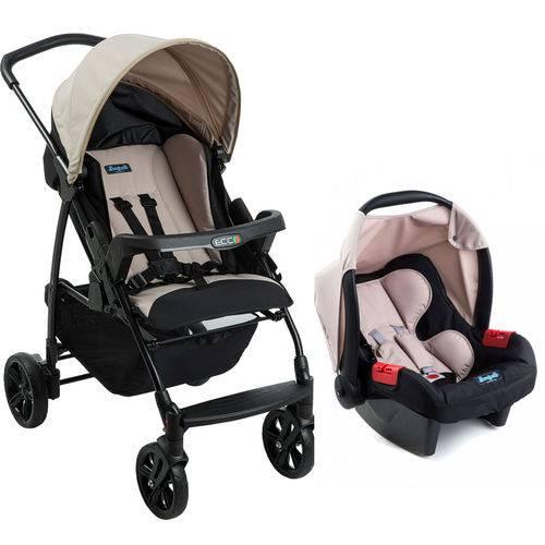 Tudo sobre 'Carrinho de Bebê Ecco Cappuccino + Bebê Conforto + Ninho Pramette Burigotto'