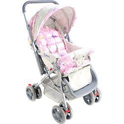 Carrinho de Bebê Funny Voyage Rosa