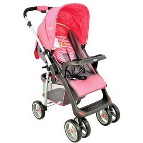 Carrinho de Bebê Lenox Zap Fechamento com um Único Toque 5212 - Rosa
