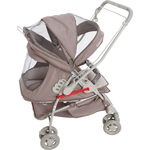 Carrinho de Bebê Maranello Ii Capuccino + Bebê Conforto Cocoon Galzerano