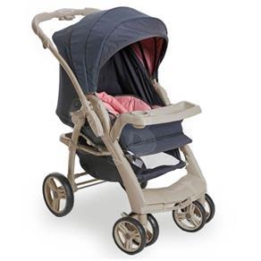 Carrinho de Bebê Optimus Rosa