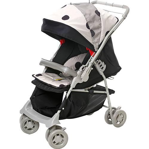 Tudo sobre 'Carrinho de Bebê Passeio Galzerano Maranello Preto e Bege'