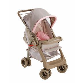 Carrinho de Bebê Pegasus Tartine Rosa