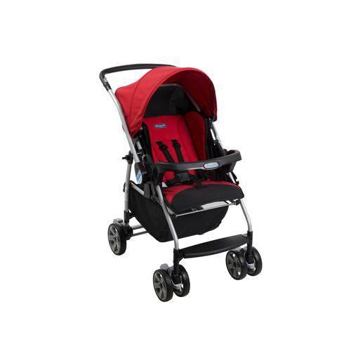 Tudo sobre 'Carrinho de Bebê Reversível Rio K Burigotto com 4 Pos. Red'