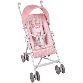 Carrinho de Bebê Sonho de Bebê Rosa Hercules