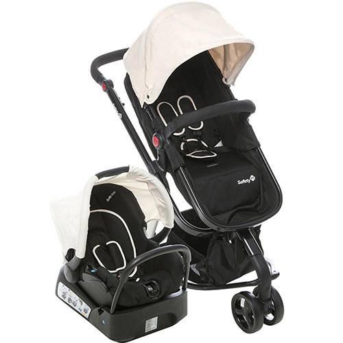 Tudo sobre 'Carrinho de Bebê Travel System Mobi Plain Beige - Safety 1st'
