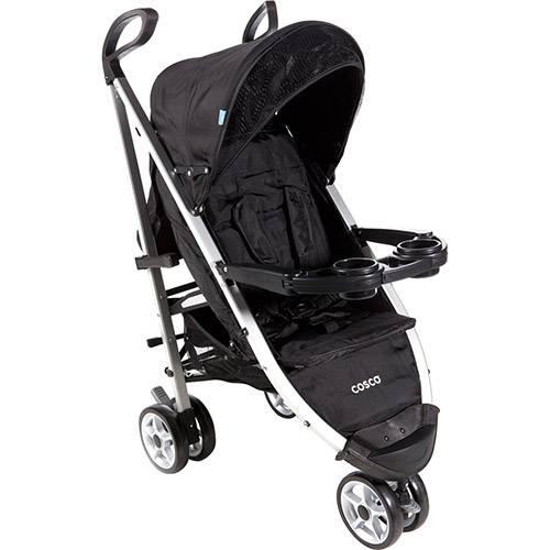 Carrinho de Bebê Umbrella Deluxe Preto Original - Cosco