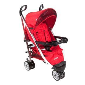 Carrinho de Bebê Umbrella Deluxe Vermelho Tabasco Cosco