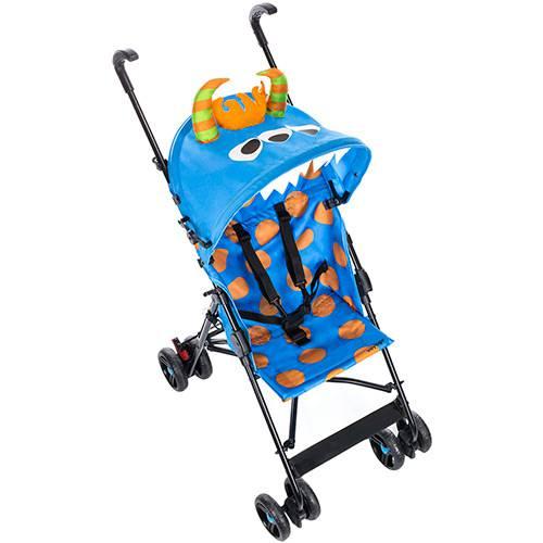 Carrinho de Bebê Umbrella Monster Azul - Voyage