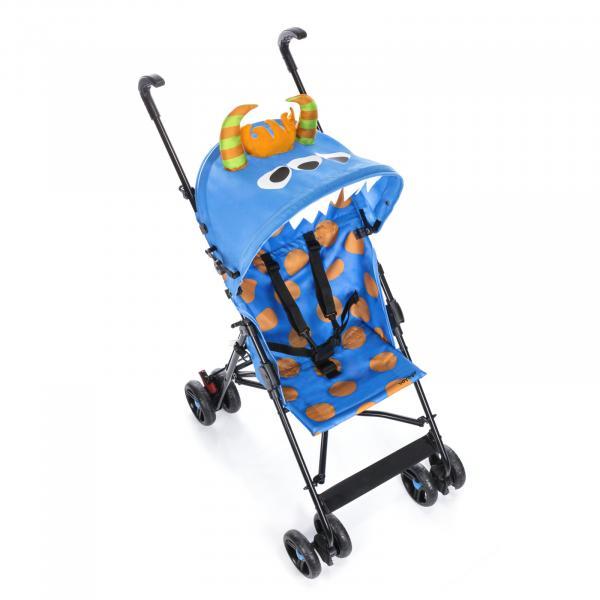 Carrinho de Bebê Umbrella Monster Voyage - Azul