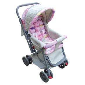 Carrinho de Bebê Voyage Funny LS2058 - Rosa