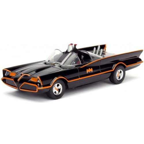 Carro Batman Batmobile Classic TV Series Metals Die Cast 1:32