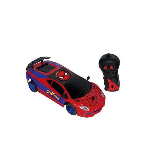 Tudo sobre 'Carro com Controle Remoto Spider Man Ultimate 3 Funções - Candide'