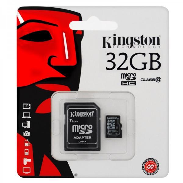 Cartao de Memoria 32gb Micro Sd Kingston
