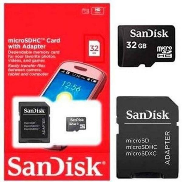 Cartão de Memória 32 Gb - Sandisk