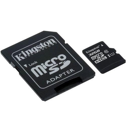 Cartão de Memoria Kingston Micro Sd 32gb C10