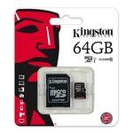 Cartão de Memoria Kingston Micro Sd Xc 64gb