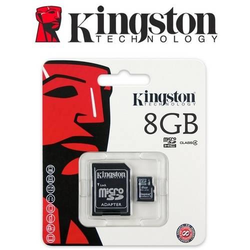 Cartão de Memória Micro Sd 8gb Kingston