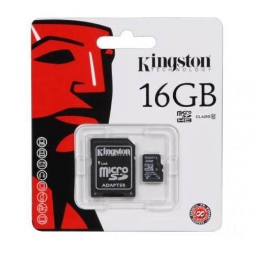 Cartão de Memória Micro SD Kingston 16GB